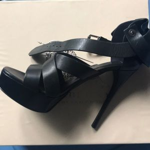 Burberry black heels